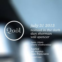 Qool Happy Hour: Nomad in the Dark, Will Spencer