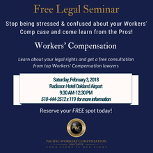 Free Legal Seminar: Workers' Compensation