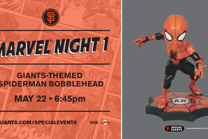 SF Giants Marvel Night