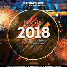 NYE 2018 !! Red Carpet Bollywood/Bhangra New Year Party in SF
