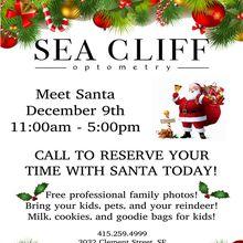 Santa @ Sea Cliff Optometry