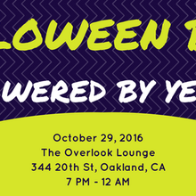 The Overlook Lounge Halloween Bash powered by Yelp!