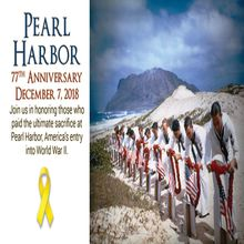 Pearl Harbor: 77th Anniversary Ceremony