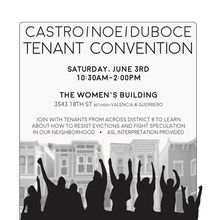 Tenant Convention in District 8