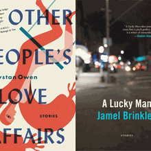 D. WYSTAN OWEN and JAMEL BRINKLEY at Books Inc. Berkeley