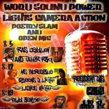 Word Sound Power: Tuesday Poetry Slam