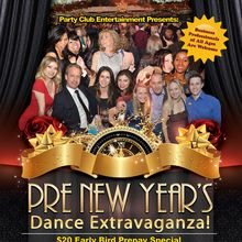 Let's Celebrate at the PRE New Year's Dance Extravaganza