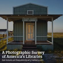 Robert Dawson gallery event: A Photographic Survey of America's Libraries