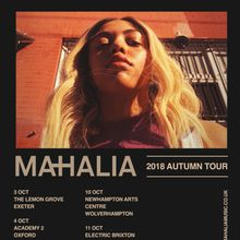 MAHALIA live @ Popscene! SOLD OUT