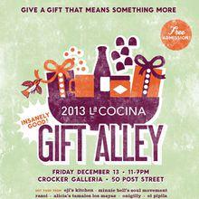 2013 La Cocina Holiday Gift Alley