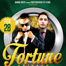 Fortune Fridays feat. DJ Playboi & Romeo Reyes