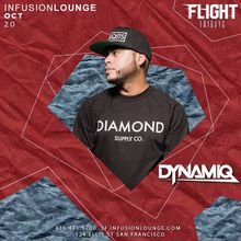 DJ Dynamiq at #FlightFridays