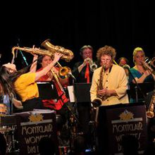 Jazz in the Neighborhood presents the Montclair Women's Big Band