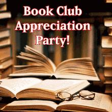 Book Club Appreciation Party in Burlingame!