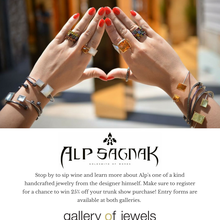 Alp Sagnak Trunk Show at Gallery of Jewels