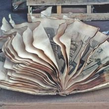 Exhibit - Books and Mud: the drowned libraries of Florence