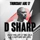 F8 presents DJ D SHARP + more