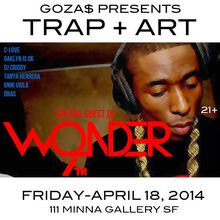 Trap + Art Party featuring 9th Wonder