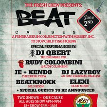 Beat Causes - A fundraiser in conjunction with MISSEY to fight human trafficking - FIRST SHOW