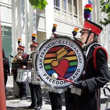 Yerba Buena Gardens Festival Presents San Francisco Lesbian/Gay Freedom Band