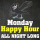 Happy Hour All Night At Raven