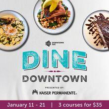 Dine Downtown Restaurant Week