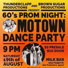 60's Prom Night: A Motown Dance Party