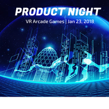 VR Product Night: VR Arcade Games