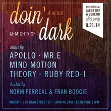 DOIN' IT AFTER DARK : Official Labor Day Weekend Party