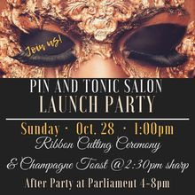 Pin and tonic salon Launch Party