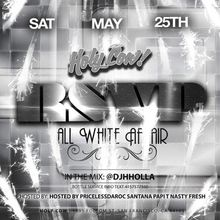 MDW2019 - RSVP Saturdays - ALL WHITE AFFAIR with DJ H Holla