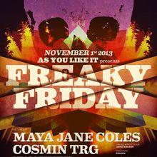 As You Like It Freaky Friday: Maya Jane Coles