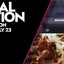 Local Motion Dinner with Bacon Bacon Food Truck