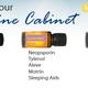 Medicine Cabinet Makeover using Essential oils