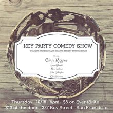Key Party Comedy w/ Chris Riggins