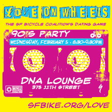 SF Bicycle Coalition's Love on Wheels Dating Game
