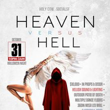 Heaven vs Hell Halloween Party at Holy Cow - Halloween Night!