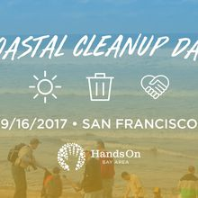 Coastal Cleanup Day with HandsOn Bay Area's Youth Advisory Council!
