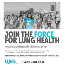 LUNGFORCE Walk 5K (American Lung Association)