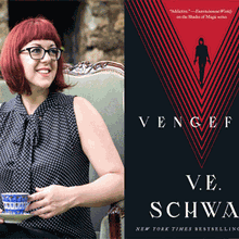 V.E. SCHWAB at Books Inc. Berkeley