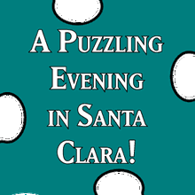 A PUZZLING EVENING at Books Inc. Santa Clara