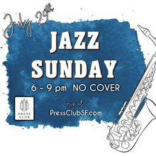 Jazz Sundays Series at Press Club