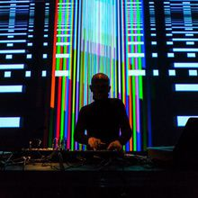 The Bunker A/V Sessions: Atom TM live A/V, Derek Plaslaiko