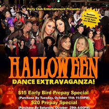 Let's Celebrate At The Biggest Halloween Dance Extravaganza Ever!