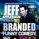 As seen on The Late Late Show with Craig Ferguson Comedian Jeff Applebaum