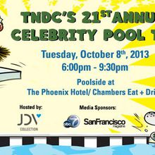 21st Annual TNDC Celebrity Pool Toss