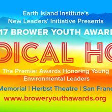Brower Youth Awards for Environmental Leadership