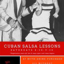 Cuban Salsa Lessons