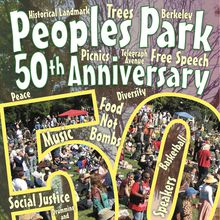 The 50th Anniversary of People's Park