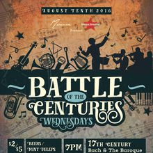 Battle of the Centuries Classical Music Night